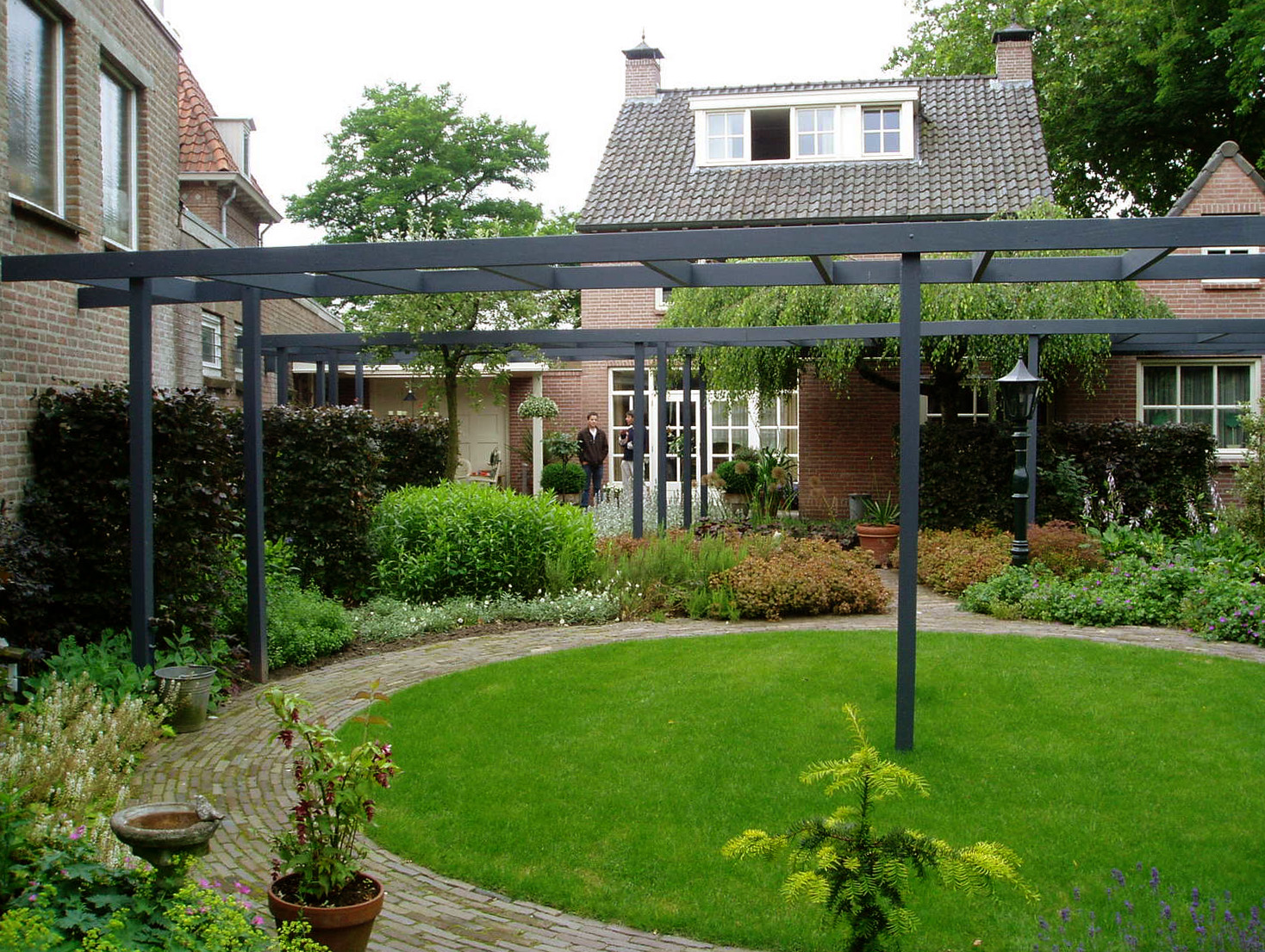 Stadstuin in vught tuinontwerp for Tuinontwerp stadstuin